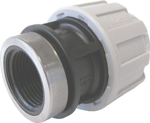STP fittings PP Kupplung mit Innengewinde, 20 mm x 3/4 Zoll