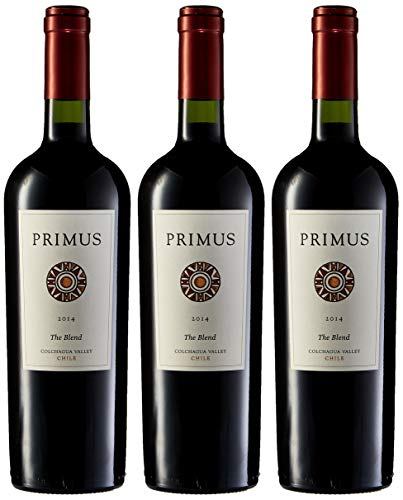Primus The Blend - Vino Chile - 3 Botellas x 750 ml - Total : 2250 ml