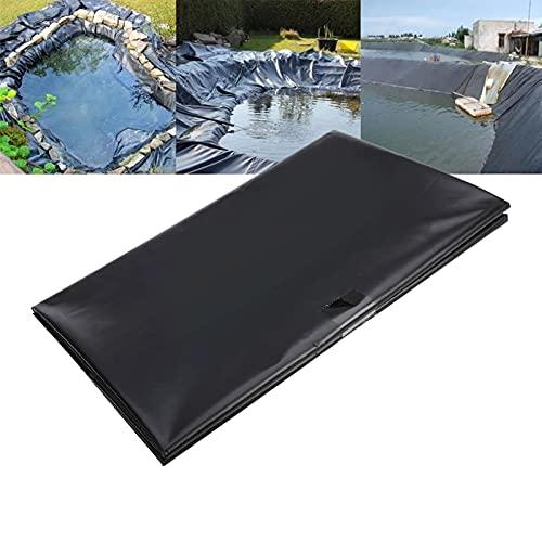 EUNEWR Teichfolie Zuschnitt 3m x 2m HDPE Schwimmteich Folie 0,2mm Stärke Gartenteich Teichplane für Gartenteich Teichbau, Garten- und Teichzubehör Wasserbecken