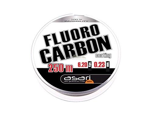 Asari - Fluorocarbon Coating 250, Color Transparente, Talla 0.350 mm