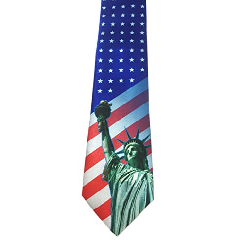 Product Image 2: Stonehouse Collection Men's Assorted Holiday Ties – 6 Fun Neckties – Tie Assortment – Christmas, Thanksgiving, Valentines, St Patricks, Easter, 4th of July