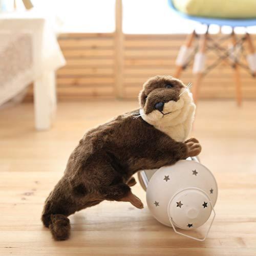 Creative Simulation Animal Otter Doll Knuffel Verjaardagscadeau 40cm Otter
