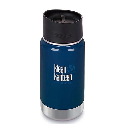 Klean Kanteen 592ml/20oz Kanteen© Wide Vacuum Insulated (mit Café Cap 2.0)-DS Deep Sea