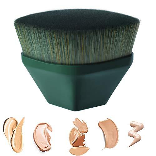 Foundation Pinsel Make-up Pinsel -Flat Top Gesicht Pinsel Groove Design Blush Pinsel zum Mischen von...
