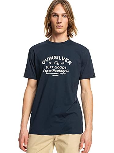 magliette uomo quiksilver Quiksilver™ Closed Tion - Maglietta - Uomo - L-