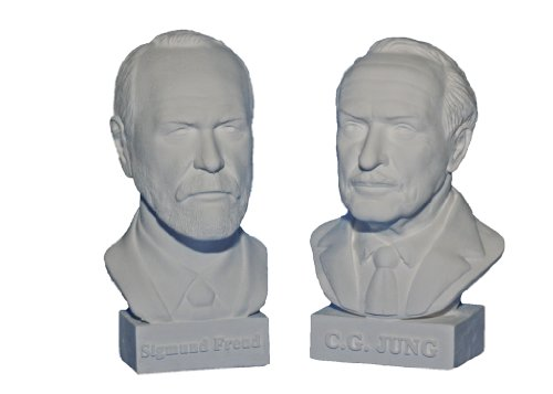 gipsnich Büste Freud / Jung