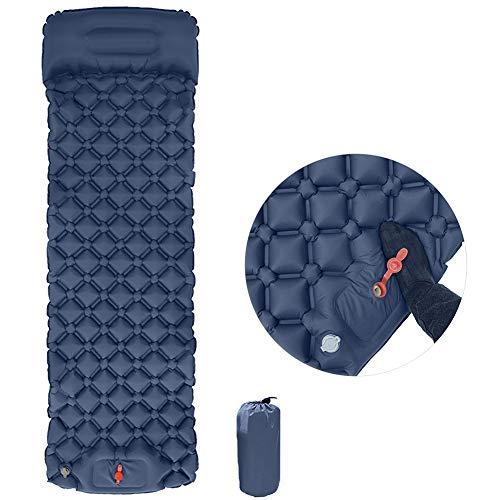 CHB AIRBED Supplémentaire Durable Simple Réhaussée Camping Éponge Pied Matelas Gonflable Heavy Duty Confort Blow Up pour Une Utilisation Intérieure Et Extérieure