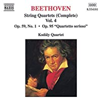 Beethoven String Quartets 4
