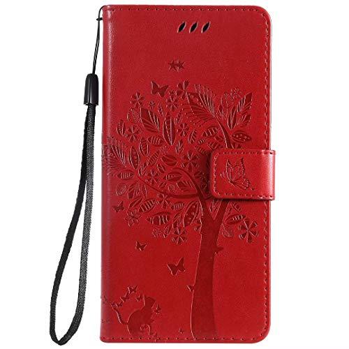 HUANGTAOLI Cover per Huawei P40 Lite, Cover a Libro con Funzione Stand e Porta Carte Chiusura Magnetica Portafoglio (JNY-L21A, JNY-L22A, JNY-LX1, 6.4')