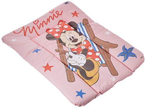Wickelbrett Wickelmatte weich rosa gepolstert Keeeper Baby Disney Motiv Minnie