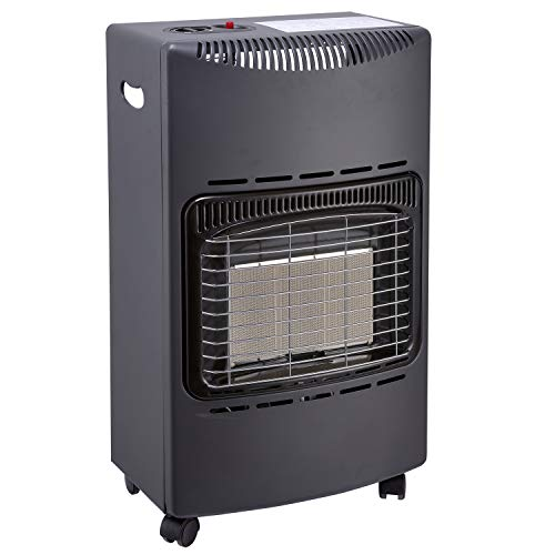 Favex 8630047 Chauffage d'appoint gaz 4200-Prêt à l'emploi livré avec tuyau et détendeur-Intérieur-Surface de chauffe jusqu'à 40m²