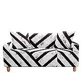 WXQY Funda de sofá elástica geométrica Funda de sofá...