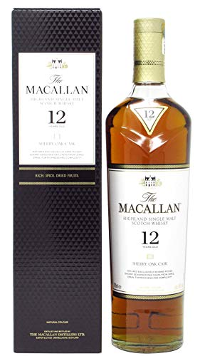 Macallan - Sherry Oak Cask - 12 year old Whisky