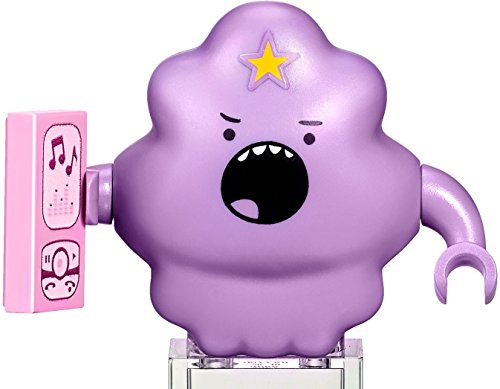 LEGO Adventure Time - Lumpy Space Princess Minifigure con teléfono celular 2016