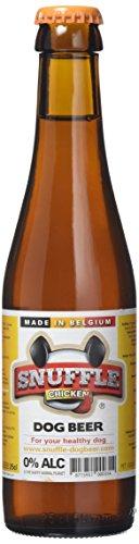 Snuffle Dog Beer Cerveza para Perros 24uds 250ml (Pollo y Ternera)