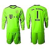 Conjunto de camiseta de fútbol para niños de Nőler, camiseta de manga corta, diseño del equipo de fútbol Bäuyőrn 2021 verde XL