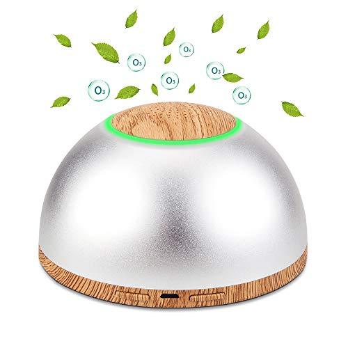 Luftreiniger mit Ozon-Generator, tragbar, mit zwei Reinigungsmodi, entfernt Rauch / Tiergerüche, für Zuhause / Büro