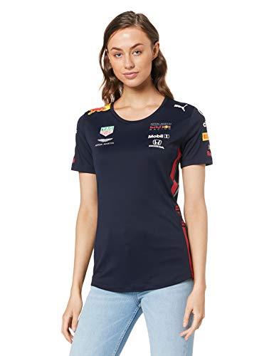 Red Bull Racing Official Teamline T-Shirt, Blau Damen Large T-Shirt, Racing Aston Martin Formula 1 Team Original Bekleidung & Merchandise