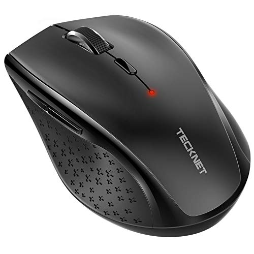 TECKNET Bluetooth Wireless Mouse,5 Adjustable DPI...