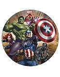 Dekora 231335 Marvel Avengers Tortenaufleger aus Esspapier, 16 cm