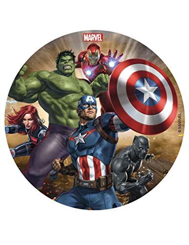 Generique - Disco di Zucchero AvengersDisco di Zucchero Avengers Taglia Unica