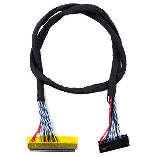 LVDS-Kabel FIX-30P 1ch 6bit 40cm Länge (MEHRWEG)