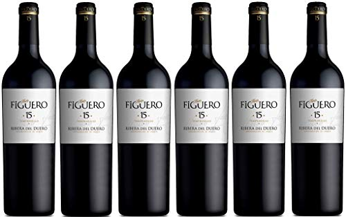Vinos Figuero (Figuero 15,vino tinto,vino ribera del duero, 4500ml)