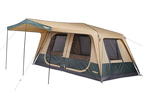 Fast Frame Cruiser 420 Cabin DTF-C420-D 420x240x195cm 18.4kg tenda da campeggio per 8 persone.Materiali pesanti 150 denier 100% polyestere antistrappo. Tende familiare.