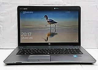 [中古パソコン][大画面17インチ][SSD240GB][薄型][クワッドコアi7] hp ProBook 470 G1(Core i7-4702MQ 2.2GHz/8GB/SSD240GB/DVDRW/Wi-Fi/HD8750M/Wcam/W...