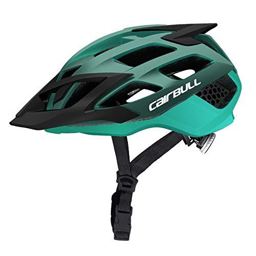 Offroad Ultralight helm racefiets mountainbike helmen voor de veiligheid dop voor gebruik buitenshuis,Green