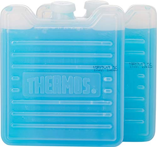 Thermos Weekend Lot de 2 mini blocs réfrigérants réutilisables Bleu 100 g