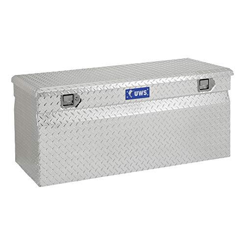 UWS EC20261 48-Inch Heavy-Wall Aluminum Cargo Carrier Box, RigidCore Lid
