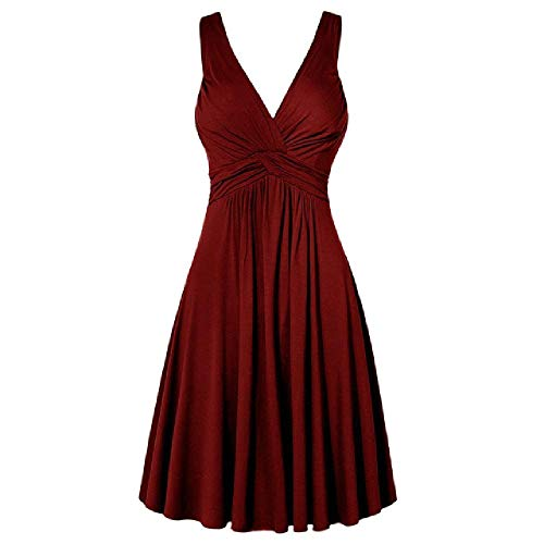 N\P Vestido de fiesta bodycon con cuello en V y correas atractivas para mujer