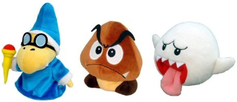 Disfruta de un 50% de descuento. Sanei Set of 3 3 3 súper Mario Plush Doll - Kamek, Goomba & Ghost Boo by Sanei  Con 100% de calidad y servicio de% 100.