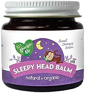 123 Nourish Me Sleepy Head Balm - Australian Made Natural Sleep Aid for Babies, Kids, Organic Essential Oils for Sleep and...