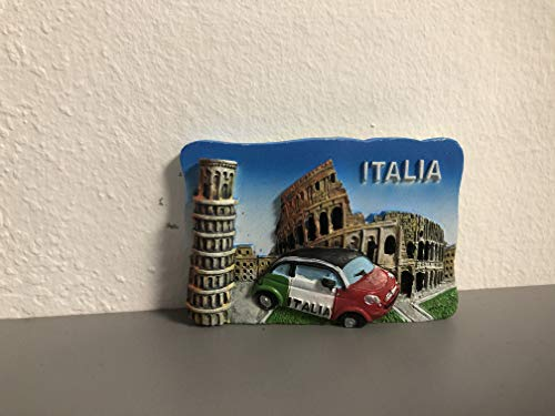 ZAMBIASI Calamita Colosseo - Torre di Pisa