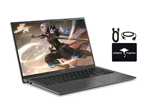 """2020 Newest ASUS VivoBook 15.6"""" FHD Thin Light Business Student Laptop, AMD Ryzen 5 3500U(Beat i7-7500U) 8GB RAM 256GB SSD+ 1TB HDD, Radeon Vega 8, Fingerprint, HDMI, USB-C, Win10, w/GM Accessories"""