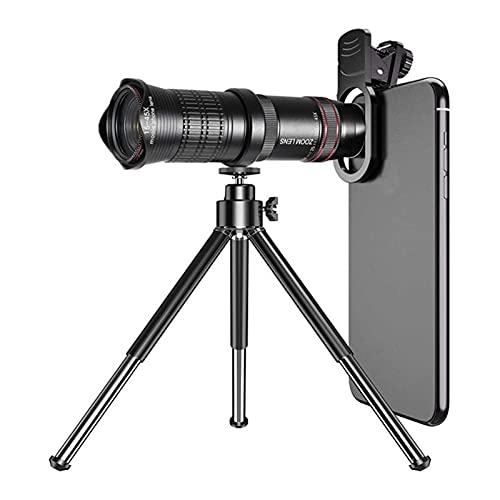 ELXSZJ XTZJ Telescopio monocular, 15x45 monocular con Soporte de teléfono Inteligente Visión Nocturna Visión Nocturna Teleobjetivo a Prueba de Agua para observación de Aves Caza Camping Fauna