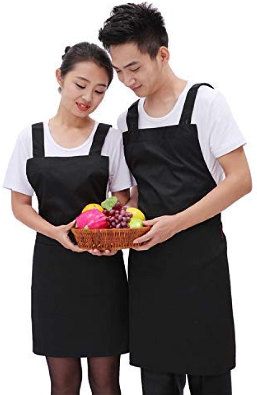 autorización Babero Babero Babero de barbacoa Cocina Cocina Correa para el hogar Delantal Moda coreana Monos Café Vestidos publicitarios (Color  Negro, Tamao  78  62) Delantal de cocina ( Color   negro , tamao   7862 )  barato en línea