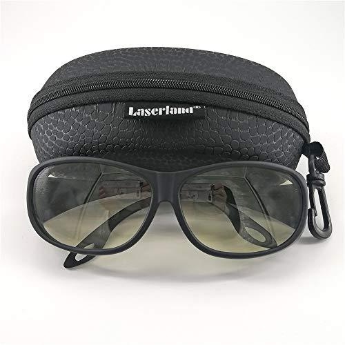 Laserland TCO2 Laserschutzbrille, 10600nm, CO2-Lasermarkiermaschine, Graviermaschine, Schutzbrille, Co2 Laser, Schutzbrille, Arbeitsschutzbrille, Laserschutz