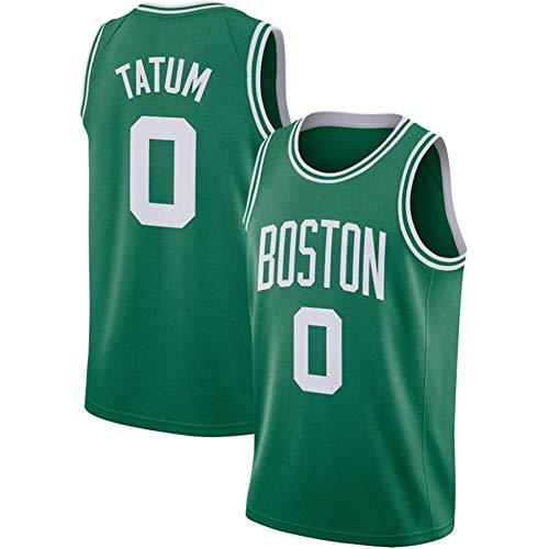CYYMY Camiseta de Baloncesto para Hombre, NBA #0 Transpirable y Resistente al Desgaste CamisetaTejido de Secado Rápido, Bordado Deportes Swingman De La Camiseta S-XXXL,Verde,S