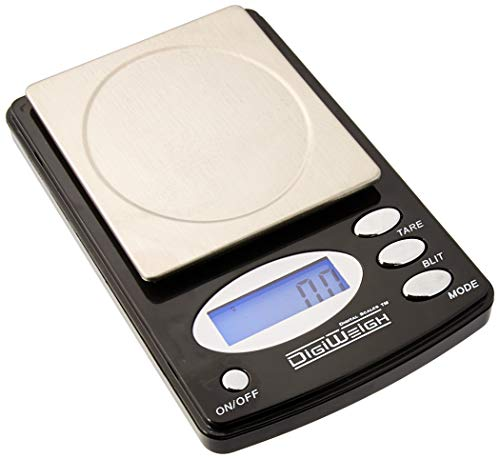 1 New 600 x 0.1 Gram Digital LAB Scale-Electronic Pocket Tool for Chemistry, Chemical Test, School Classrooms, or Home + 5 Gram Gold Test Bar