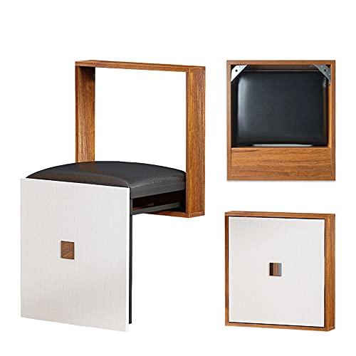 Folding Chairs Taburete Plegable para Cambiar Zapatos Que cuelga en la Pared Taburete de Ducha para baño Taburete Plegable Multifuncional para el hogar Centro Comercial Vestuario Taburete Plegable