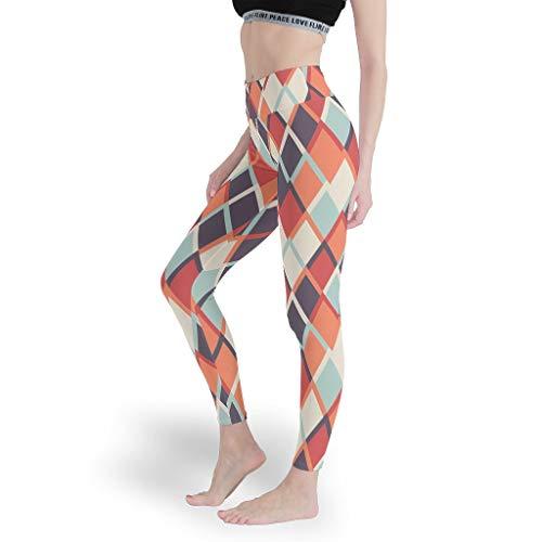 Mädchen Mehrfarbig Leggings Verschiedene Designs Yoga Hosen Druck mit hoher Taille Capris Tights für Pilates Gym White 3XL