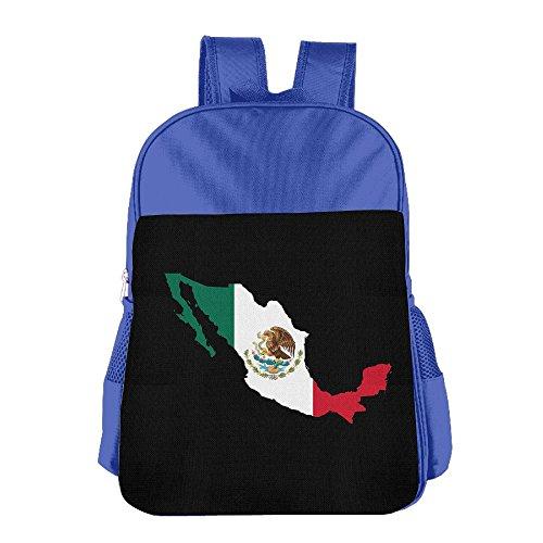 XIKEWL Lightweight Kids Backpack Mexico Flag Popular School Children Book Bags Mini Backpack