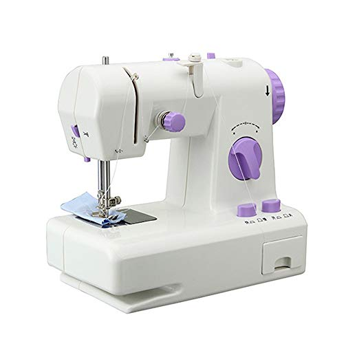 Best Deals! Electric Overlock Sewing Machine Portable Sewing Machine, 12 Stitches 2 Speed Heavy Duty...