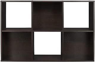 ClosetMaid 78815 Cubeicals Organizer, 6-Cube, Espresso