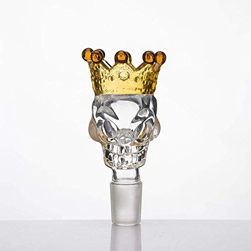 Transparent Crown Glass Taro 14MM Yellow Glass Crown Stained Glass Making
