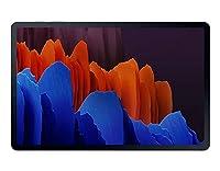 """Samsung Galaxy Tab S7+ (SM-T970) Wi-Fi版 12.4"""" (256GB+8GB RAM) グローバル版 (Mystic Black/ミスティックブラック)  [並行輸入品]"""