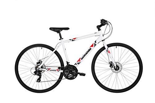 Barracuda Hydrus Men's Hybrid Bike White 21'